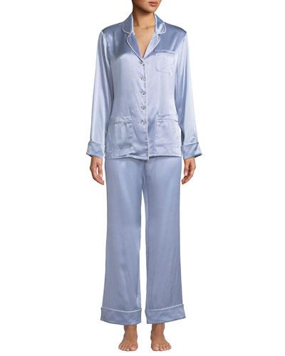 Coco Luna Classic Silk Pajama Set
