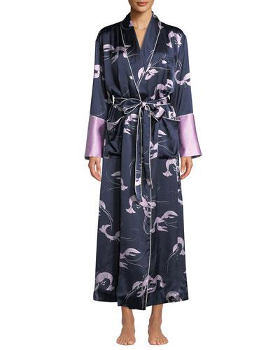 Capability Constance Silk Long Robe