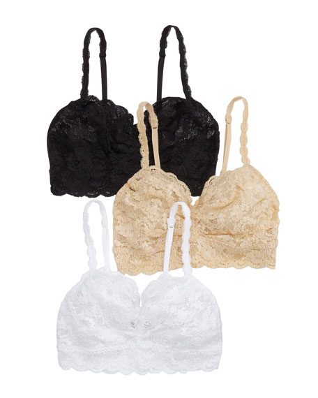 Cosabella Tops 3-PACK NEVER SAY NEVER SWEETIE LACE SOFT BRAS