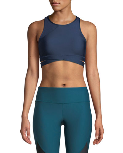 Wrap Sportlette Bra  Blue