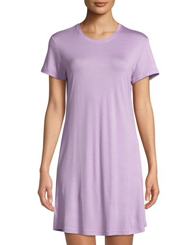 Carla Short-Sleeve Sleep Shirt