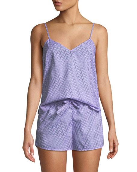 Derek Rose Ledbury Cami & Shorts Pajama Set