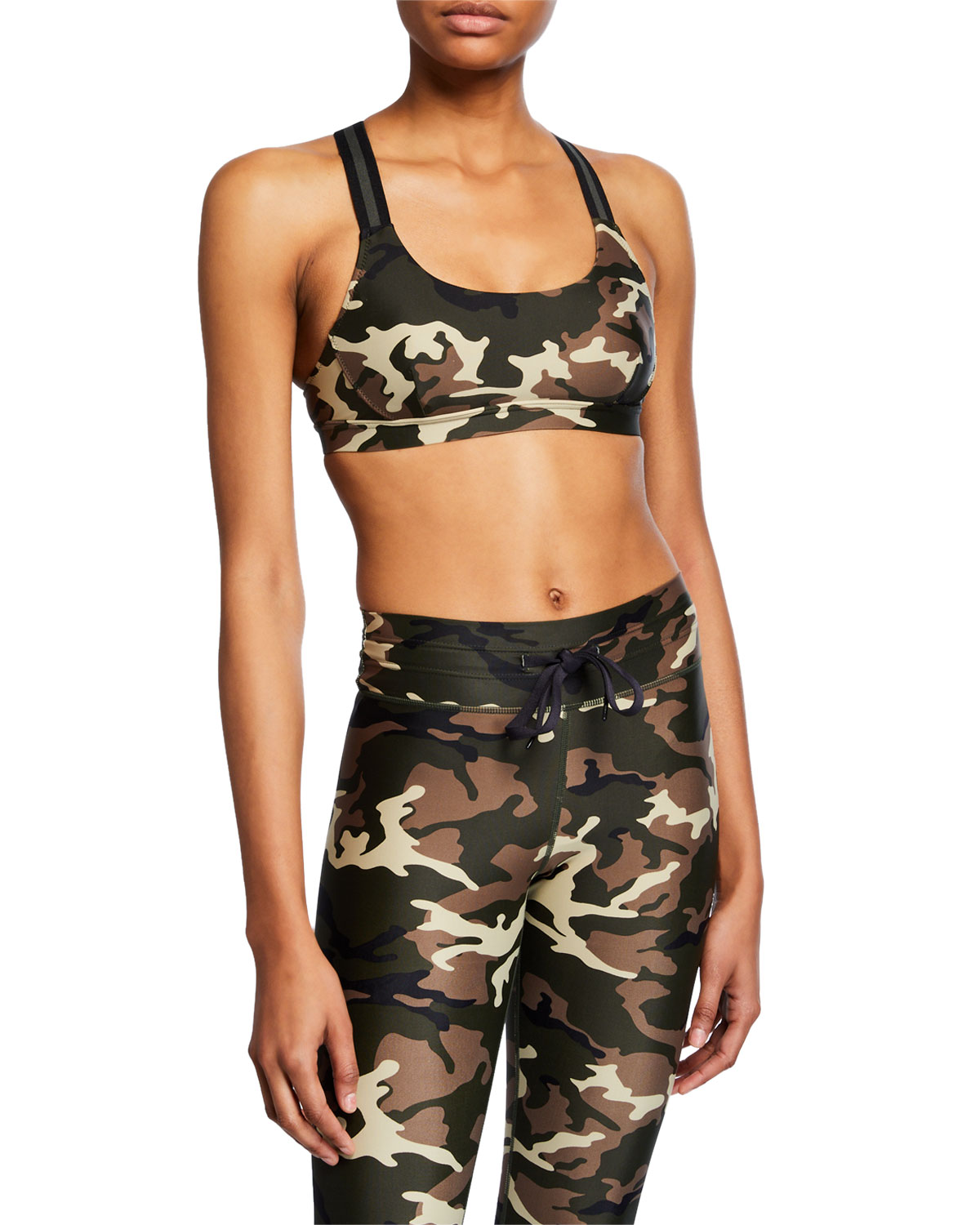 26ae15bda2 The Upside Alex Camo-Print Sports Bra