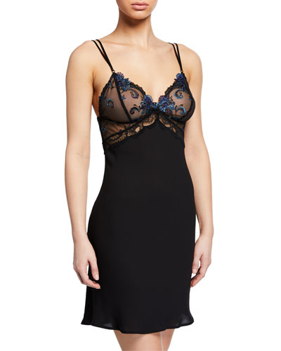 Nuit Elegance Lace-Bust Nightie