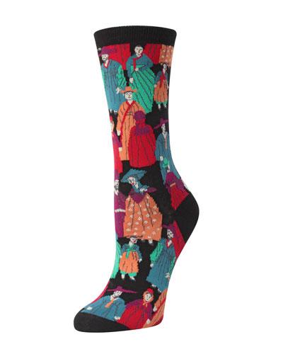 Dynasty Intarsia Socks