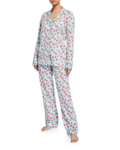 Sweet Strawberries Classic Pajama Set