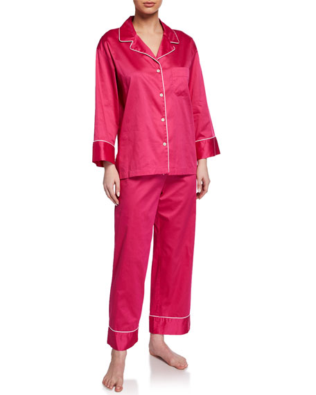 Natori Cotton Sateen Pajama Set