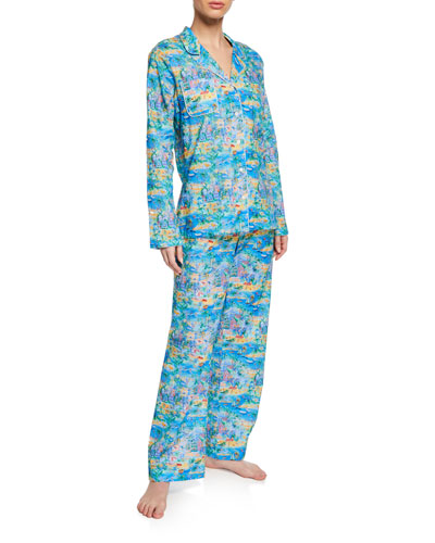 Ledbury Impressionist Classic Pajama Set