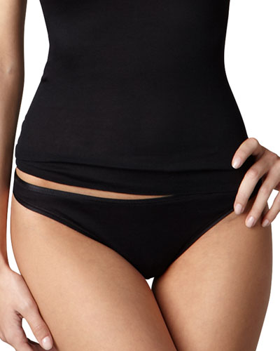 Cotton Seamless High-Cut Briefs