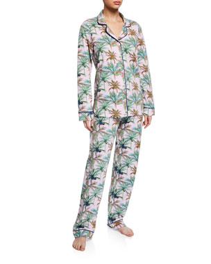 Bedhead Rainbow Palm Classic Pajama Set 15f213a4a