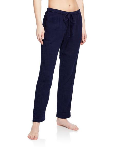 Xirena Pants JORDYN DRAWSTRING-WAIST LOUNGE PANTS