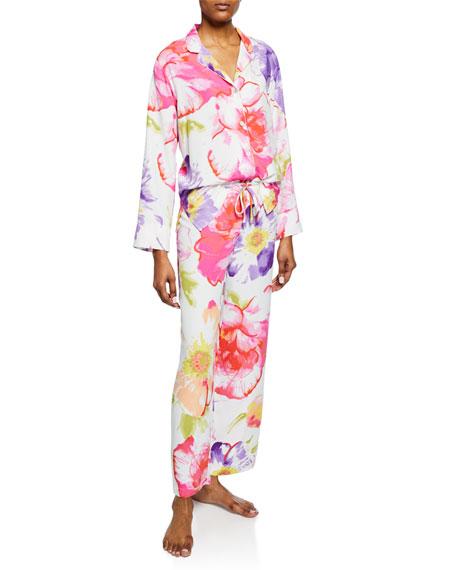 Natori Loungewear SOLEIL FLORAL-PRINT PAJAMA SET