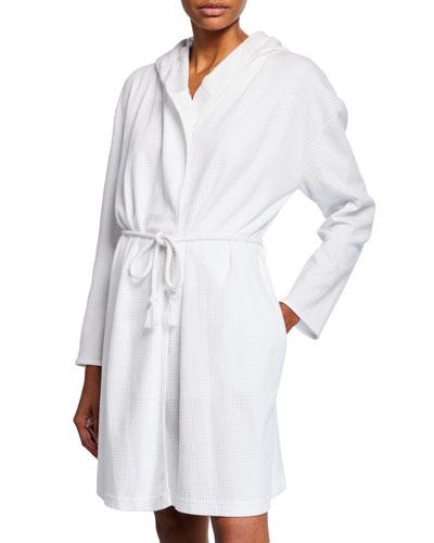 Charlotte Cotton Short Robe