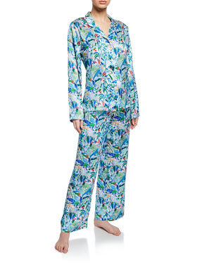 Derek Rose Brindisi Two-Piece Classic Pajama Set 12cbafc20