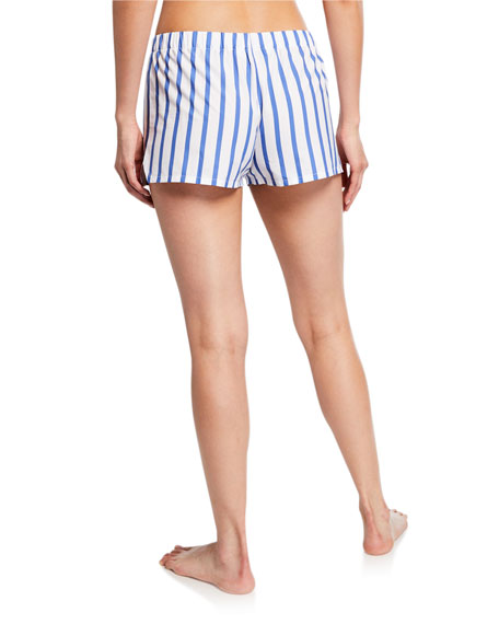 Hesper Fox Juno Striped Pajama Shorts