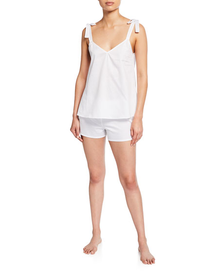 Hesper Fox Juno Poplin Pajama Shorts
