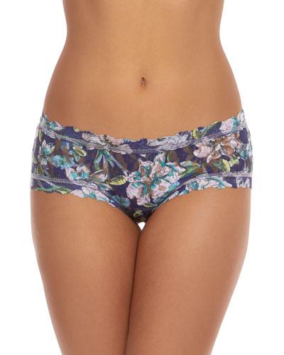 Felice Floral Girlkini Lace Boy Shorts