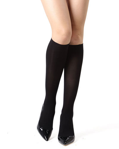Perfectly Opaque Knee-High Socks