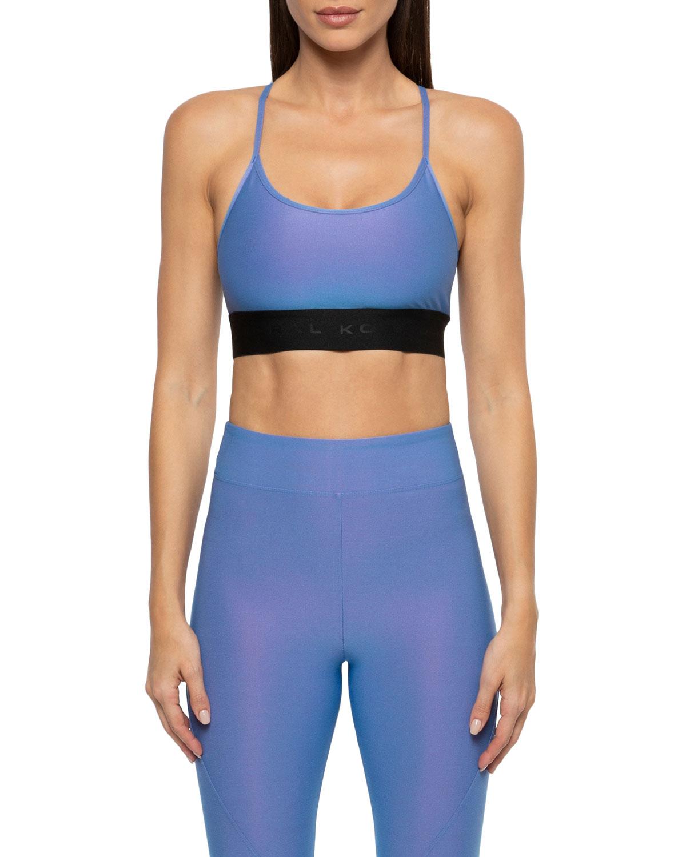 04f9b4aba22aa Koral ActivewearSweeper Iridescent Sports Bra