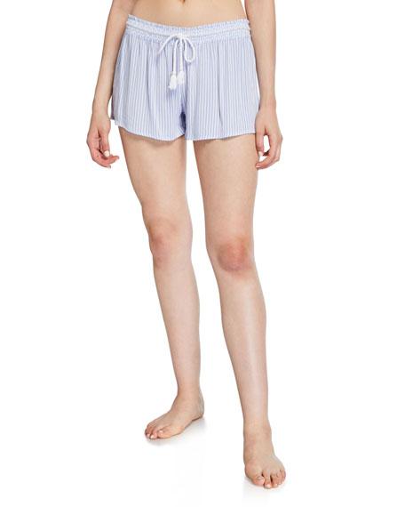 PJ Salvage Salty Days Striped Gauze Shorts