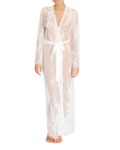 Dalia Lace Long Robe