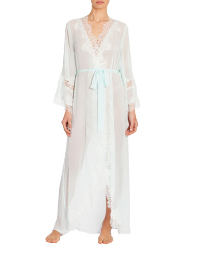 Stephanie Long Chiffon Robe