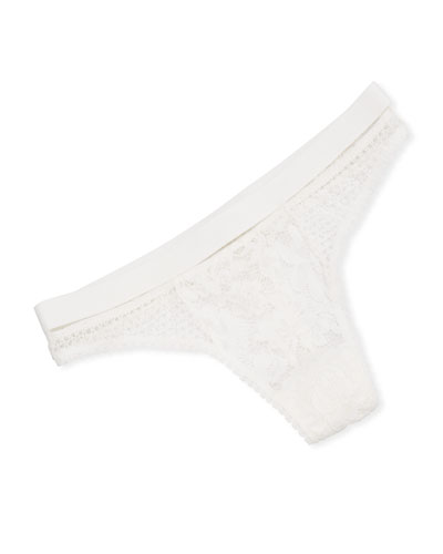 Petunia Sporty Lace Thong