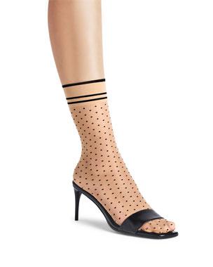 c169da47d Wolford Hula Hoop Polka Dot Socks