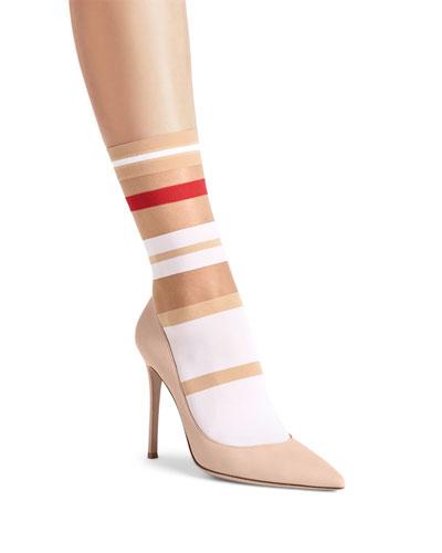 Boogie Striped Mid-Calf Socks