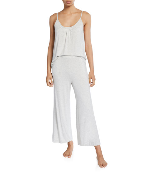 Skin Lilian Cropped Relaxed Lounge Pants