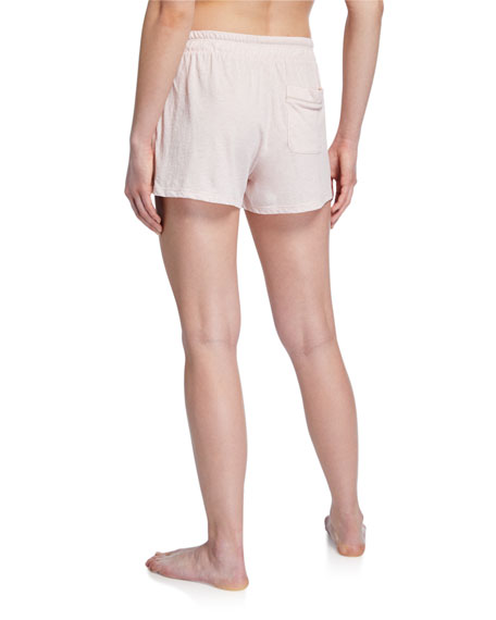 Skin Ottie Pima Cotton Lounge Shorts