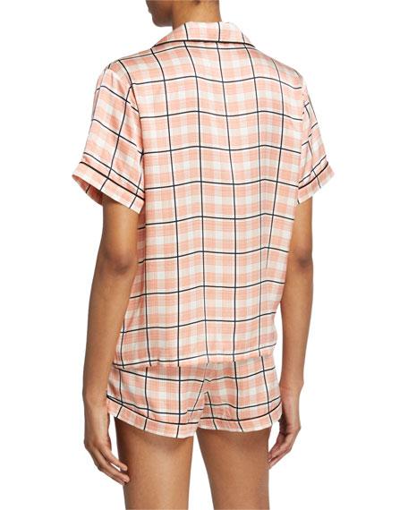 Morgan Lane Katelyn Plaid Pajama Top