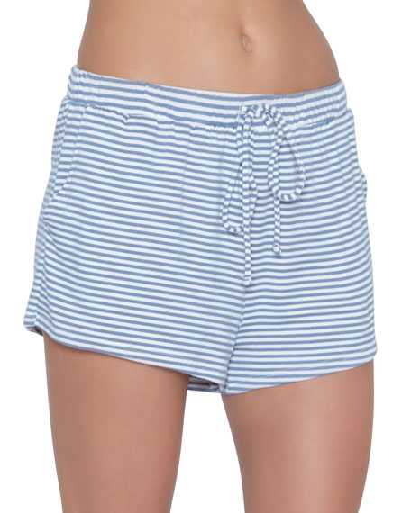 Eberjey Sadie Stripes Sport Lounge Shorts