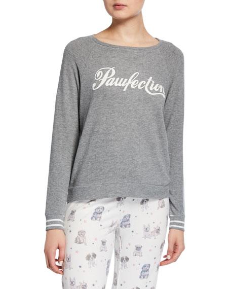 PJ Salvage Pawfection Long-Sleeve Lounge Shirt