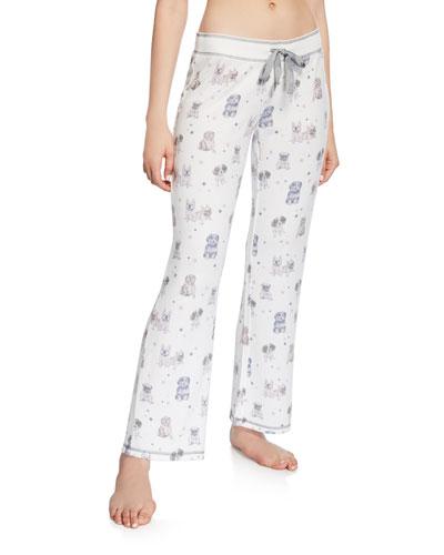 Pawfection Dog-Print Lounge Pants