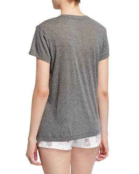 PJ Salvage Pawfection Dog Time Graphic T-Shirt