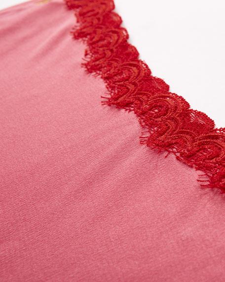 Uwila Warrior Soft Silks Lace-Trim Bikini Briefs, Camilla Rose
