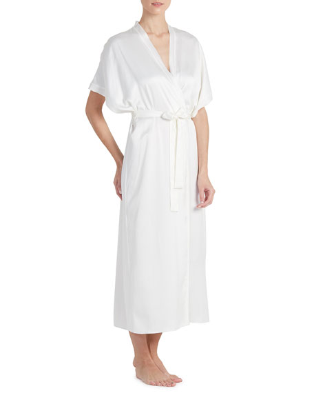 Image 1 of 2: Heavenly Satin Long Robe