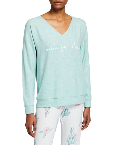 Lounge More 'Succa For Sleep' Top