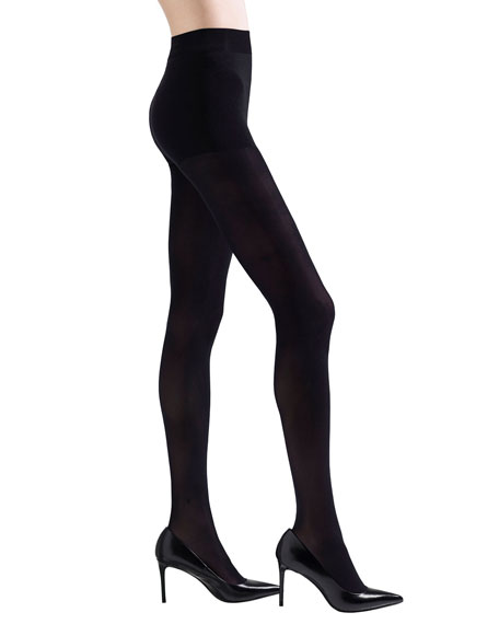 Natori 2-Pack Silky Sheer Thigh Highs & Velvet Tights
