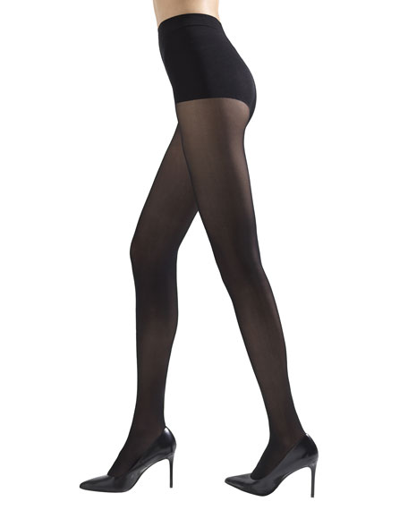 Natori 2-Pack Soft Suede Opaque Tights