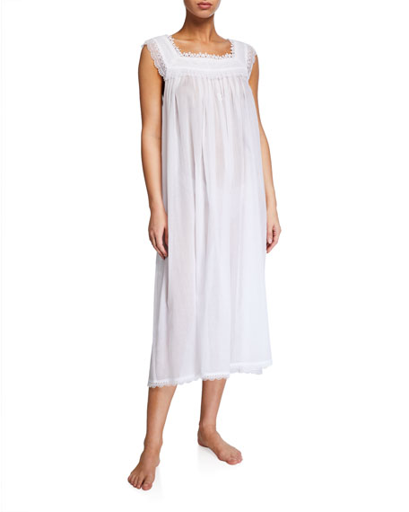 Celestine Selina Sleeveless Square-Neck Nightgown