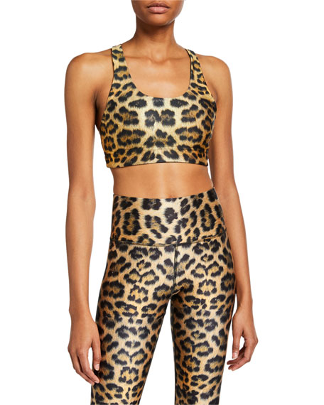 Terez Reversible Leopard Sports Bra