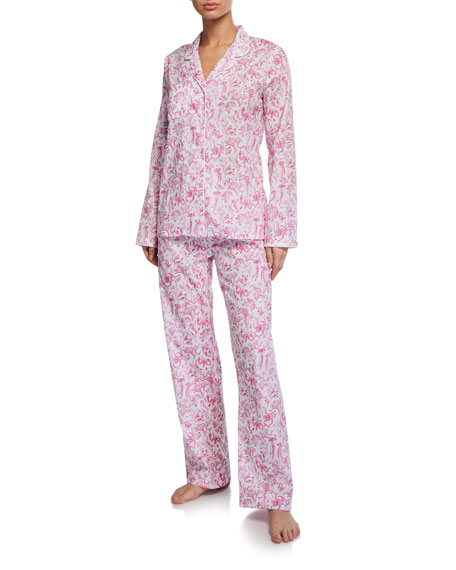 Derek Rose Ledbury Classic Pajama Set