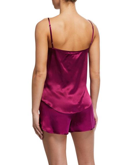 Derek Rose Bailey Silk Camisole Short Set