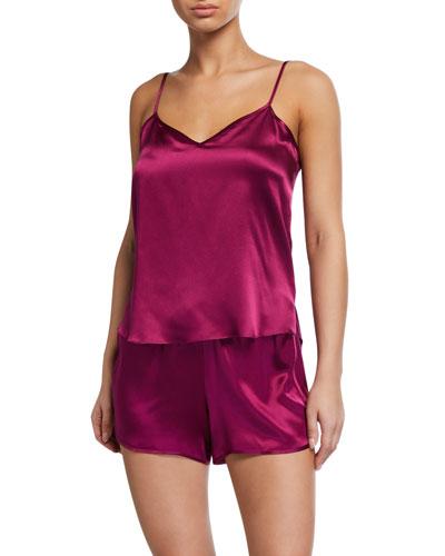 Bailey Silk Camisole Short Set