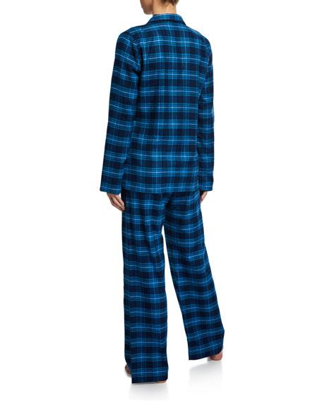 Derek Rose Kelburn Plaid Classic Pajama Set