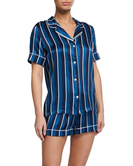 Derek Rose Brindisi Shortie Pajama Set