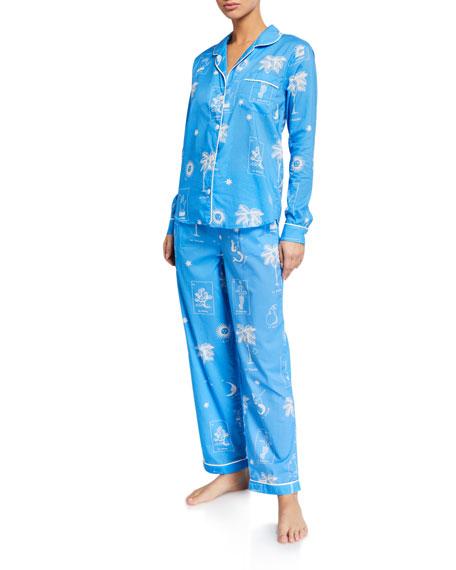 Desmond & Dempsey La Loteria Classic Pajama Set