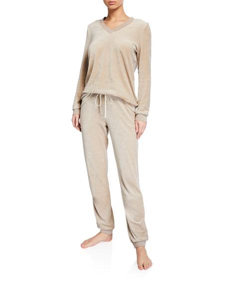 Hanro Favourites Velvet Drawstring Pants